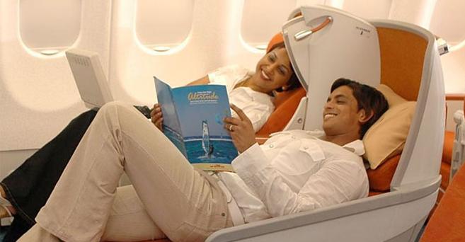 Air Mauritius Food Review
