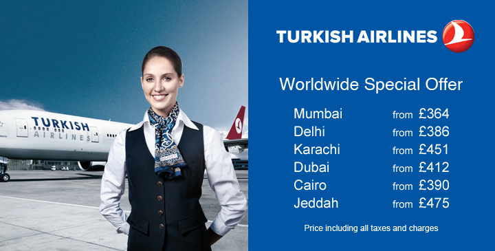 Turkish Airlines -Skylord Travel